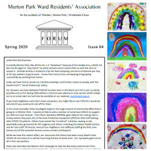 Merton Park Newsletter Link to PDF
