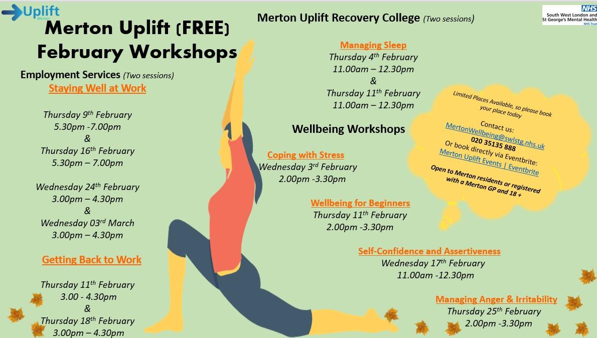 Merton Uplift Mental Health Services Merton