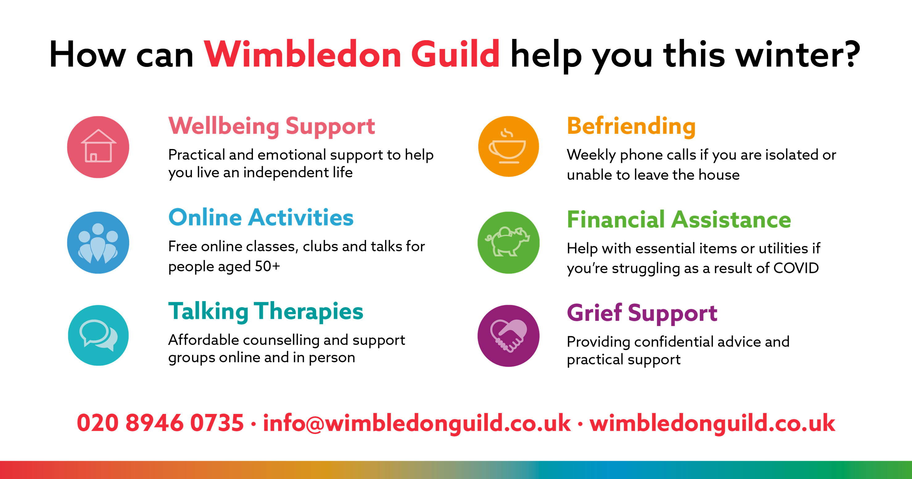Wimbledon Guild - What We do Poster