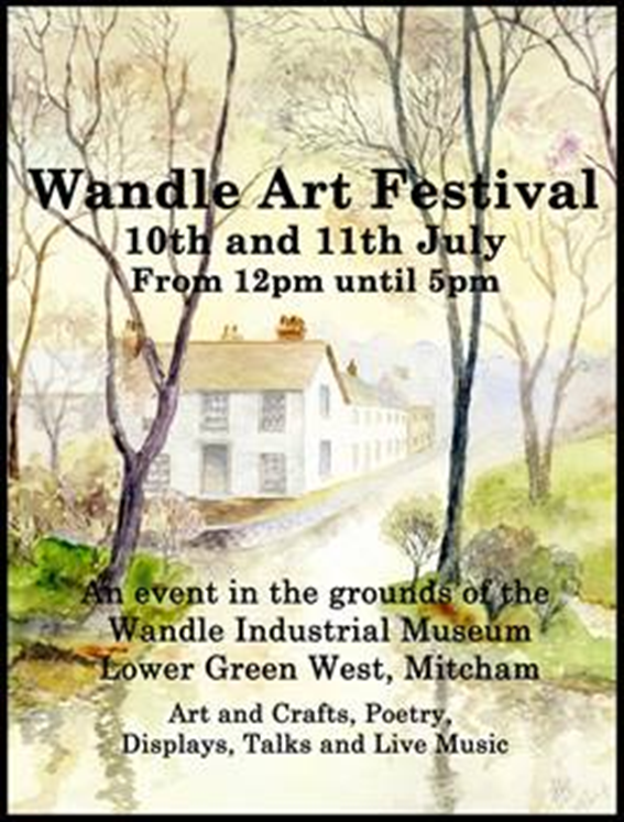 Poster for Wandle Arts Festival July 2021